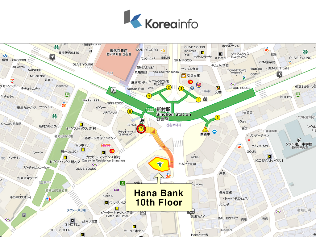 Koreainfo_Sinchon_Map