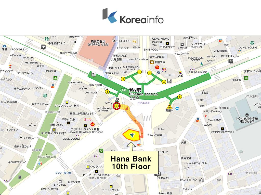 Koreainfo_Sinchon_Map